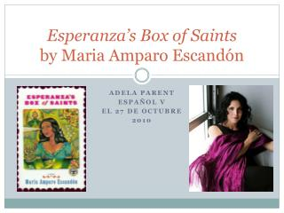 Esperanza's Box of Saints by Maria  Amparo Escandón