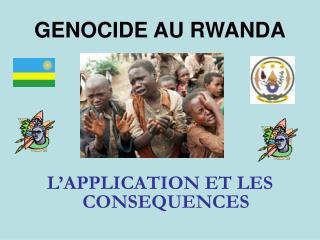 GENOCIDE AU RWANDA