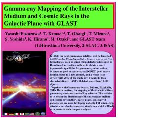 Gamma-ray Mapping of the Interstellar Medium and Cosmic Rays in the Galactic Plane with GLAST