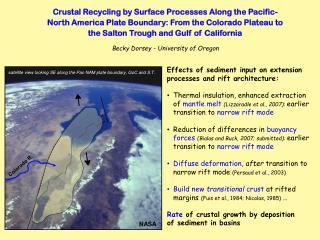 Becky Dorsey - University of Oregon