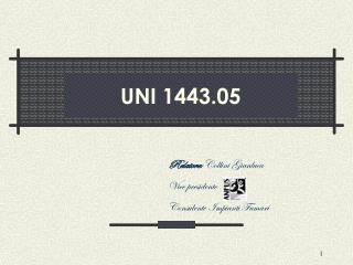 UNI 1443.05