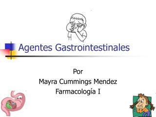 Agentes Gastrointestinales