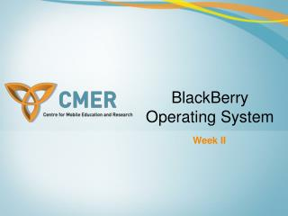 BlackBerry Operating System