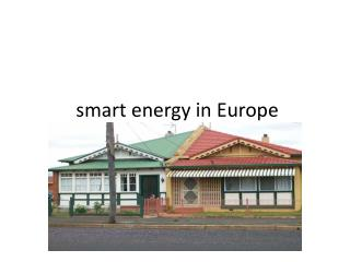 smart energy in Europe