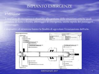 IMPIANTO EMERGENZE