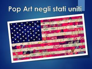 Pop Art negli stati uniti