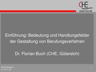 Einführung: Bedeutung und Handlungsfelder  der Gestaltung von Berufungsverfahren