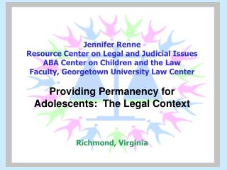 Permanency Options Under Adoption and Safe Families Act