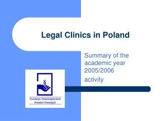 Legal Clinics in Poland