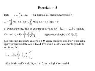 Esercizio n.5