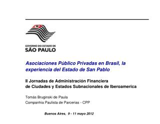 PPPs no Brasil - motiva��es e arcabou�o legal