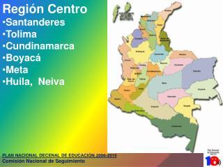 PLAN NACIONAL DECENAL DE EDUCACIÓN 2006-2016 Comisión Nacional de Seguimiento