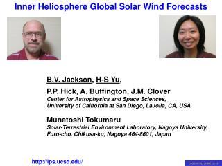 B.V. Jackson ,  H-S Yu ,  P.P. Hick, A. Buffington, J.M. Clover