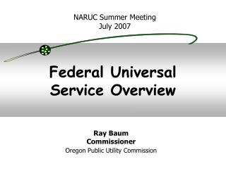 Federal Universal Service Overview