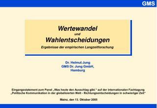 Mainz, den 13. Oktober 2005