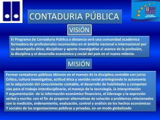 CONTADURIA PÚBLICA