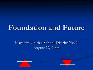 Foundation and Future