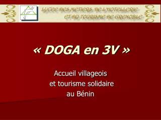«DOGA en 3V»