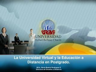 La Universidad Virtual y la Educaci n a Distancia en Postgrado.