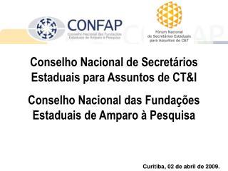 Conselho Nacional de Secretários Estaduais para Assuntos de CT&I