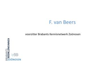 F. van Beers