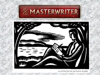 Today you took the first step to your  Master Essay assignment!  Your goal by the