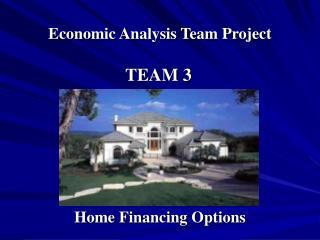 Economic Analysis Team Project