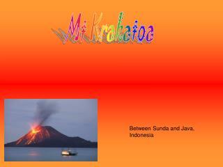 Mt Krakatoa