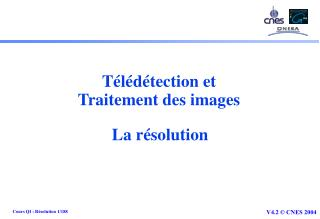 Télédétection et Traitement des images