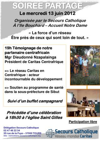 19h Témoignage de notre partenaire centrafricain Mgr Dieudonné Nzapalainga