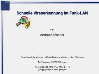 Schnelle Virenerkennung im Funk-LAN