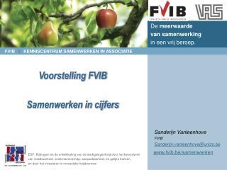 Voorstelling FVIB Samenwerken in cijfers