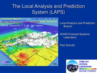 The Local Analysis and Prediction System (LAPS)