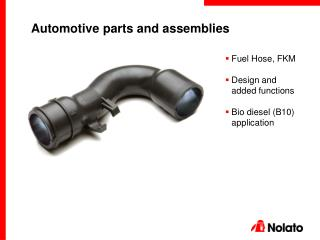 Automotive parts and assemblies
