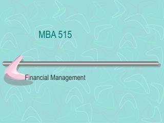 MBA 515