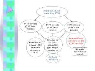 Patient och läkare i  samtal kring FYSS
