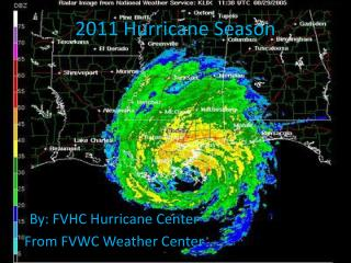 2011 Hurricane Season