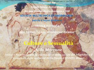Culture e Sessualità Aldo Morrone