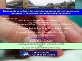 Apresentação: Ângela Brandão, Bárbara Paes Leme, Liana Sfair Coordenação: Paulo R. Margotto