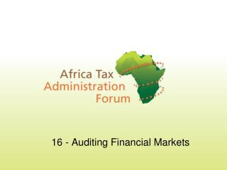 16 - Auditing Financial Markets