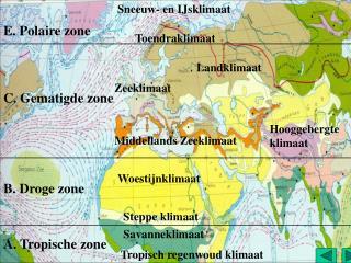 A. Tropische zone