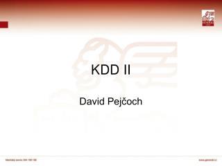 KDD II