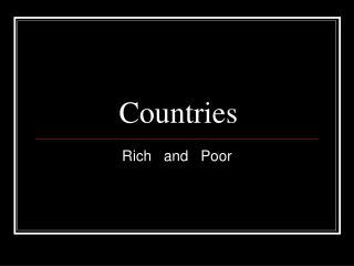 Countries