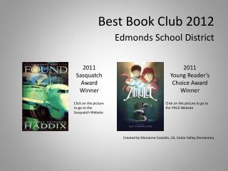 Best Book Club 2012