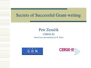 Secrets of Successful Grant-writing