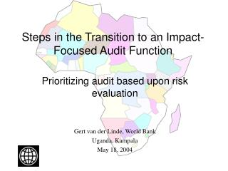 Steps in the Transition to an Impact-Focused Audit Function