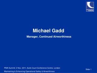Michael Gadd