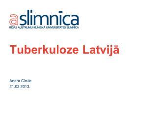 Tuberkuloze Latvijā