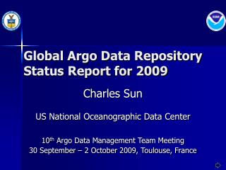 Global Argo Data Repository Status Report for 2009