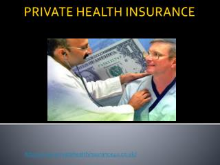 Private Health Insurance : Get Best Health Insurance Plans